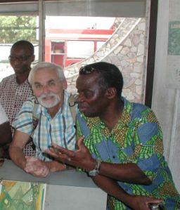 Charel Adejte Togo Assist und Roland Widmer aqua pura
