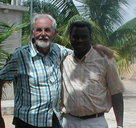Meine Wenigkeit zusammen mit Dr. Kokou Sodjéhoun