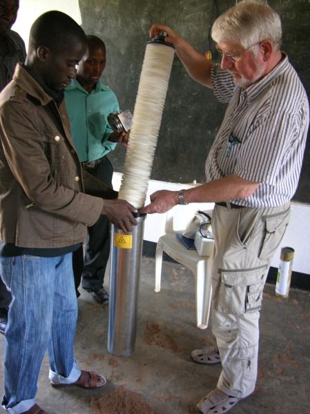 Der Waterflowfilter wird von Ruedi Schneeberger eingesetzt