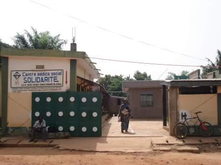 Klinikeingang