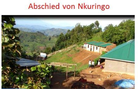 Abschied aus Nkringo