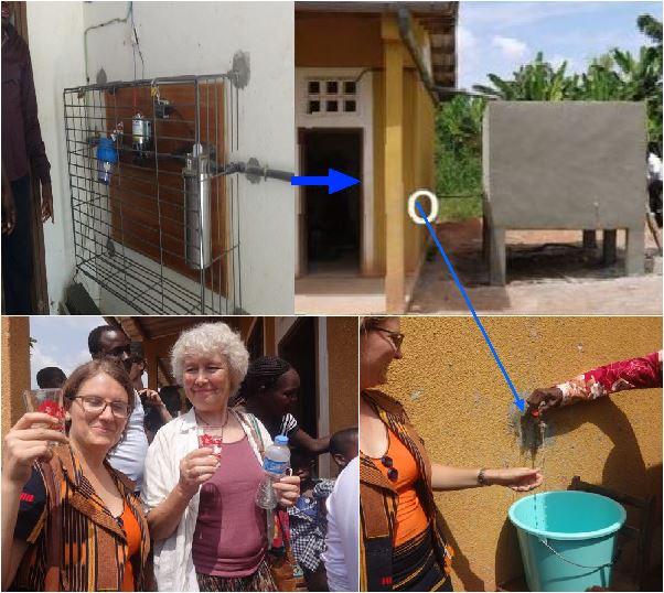 in einem kakao dorf an der elfenbeink ste c te d ivoire fliesst jetzt sauberes trinkwasser f r. Black Bedroom Furniture Sets. Home Design Ideas